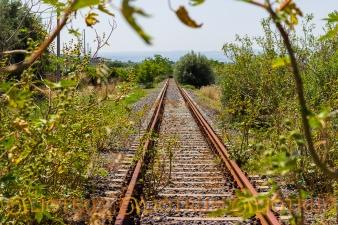 Linea ferroviaria abbandonata