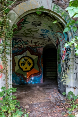 Forte abbandonato - Urbex Belgio-20